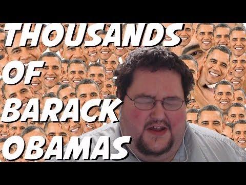 Thousands Of Barack Obamas - Youtube Comments