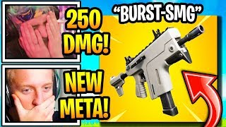 Streamers SHOCKED by the *NEW* BURST SMG (Vector) in Fortnite