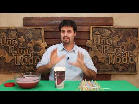 Como hacer gusanos de gelatina (Halloween)