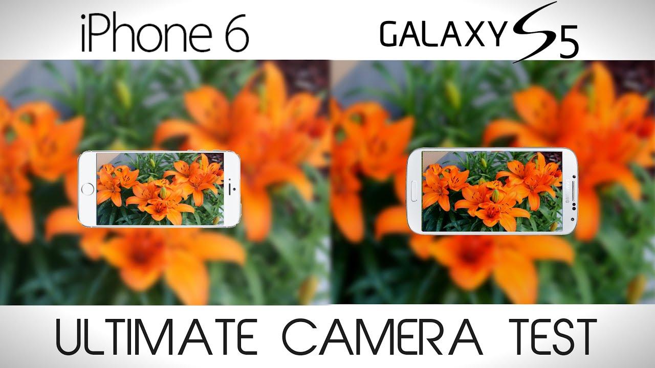Camera Iphone 5s vs Galaxy s5 Iphone 6 vs Galaxy s5