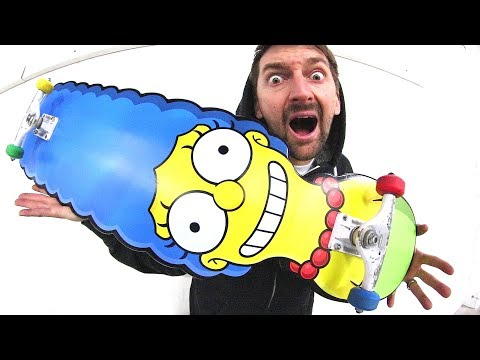 THE MARGE SIMPSON SKATEBOARD!