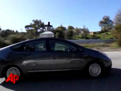 Google Road Testing Driverless Car