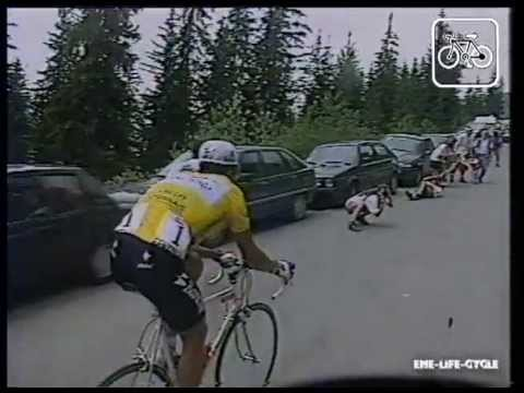 tour de france 1995 stage 9 Le Grand-Bornand -- La Plagne 11 July 1995
