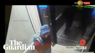 CCTV footage of suspected Sri Lanka bombers released