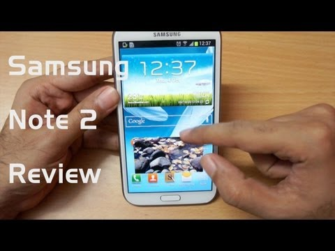 Samsung Galaxy Note 2 full review