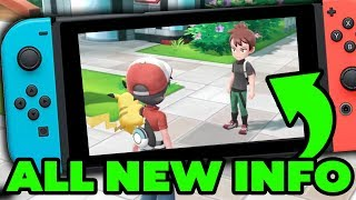 Pokemon Switch NEWS - STATS IN GAME, NEW RIVAL AND MORE in Pokemon Let's GO Pikachu & Let's GO Eevee