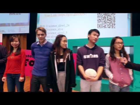 FameLab Hong Kong 2016 highlight