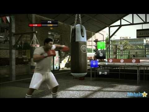 Fight Night Champion Walkthrough - Training Games - Heavy Bag Combos