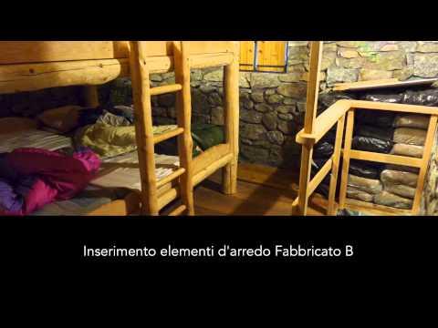 Lavori di ristrutturazione dei fabbricati dell'Alpe Pioda, Val Masino (SO)