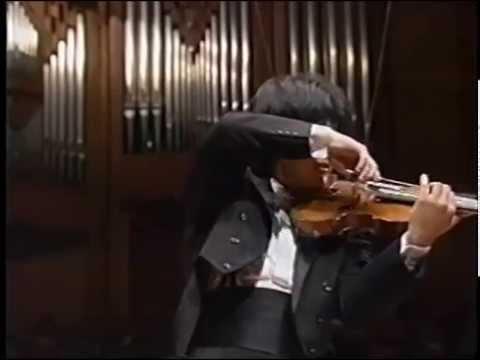 樫本大進 バイオリン協奏曲第一番(ブルッフ)