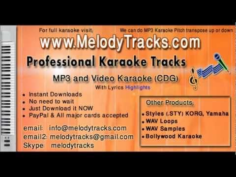 Tera chehra jab nazar - Adnan Sami KarAoke - www.MelodyTracks...