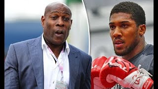 FRANK BRUNO SUGGESTS ANTHONY JOSHUA BEATS DEONTAY WILDER BUT NOT TYSON FURY!!
