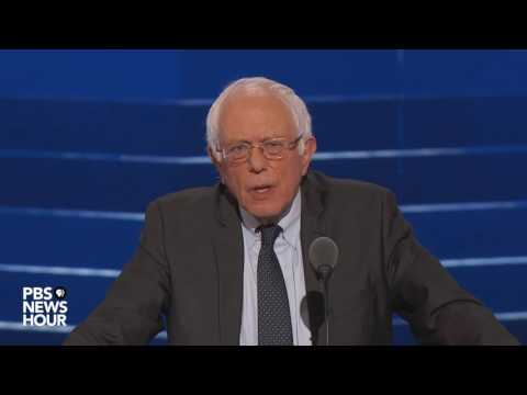 Sen. Bernie Sanders: 'Hillary Clinton must become the next president of the United States'