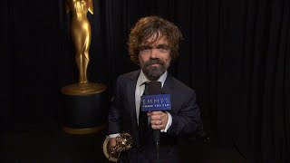 70th Emmys Thank You Cam: Peter Dinklage From Game Of Thrones