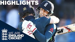 Record-Breaker Root Hits Back-To-Back Hundreds | England v India 3rd ODI - Highlights