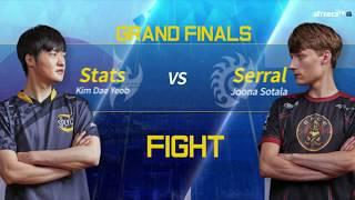 [GSL vs. the World 2018] Grand Finals Stats vs Serral Set1-Set2