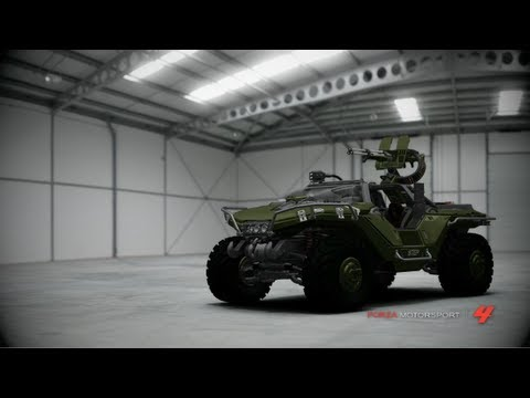 Forza Motorsport 4 - Halo Warthog Reveal Trailer
