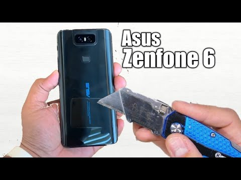 Asus Zenfone 6 Durability test in real life Flip Camera Test