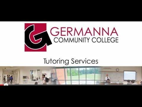 Germanna Community College Tutoring Services