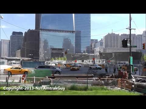 UPDATE! One World Trade Center / Freedom Tower 5/10/2013 construction progress part 1