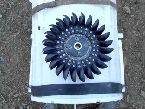 Free power- How to convert a washing machine into a water powered generator