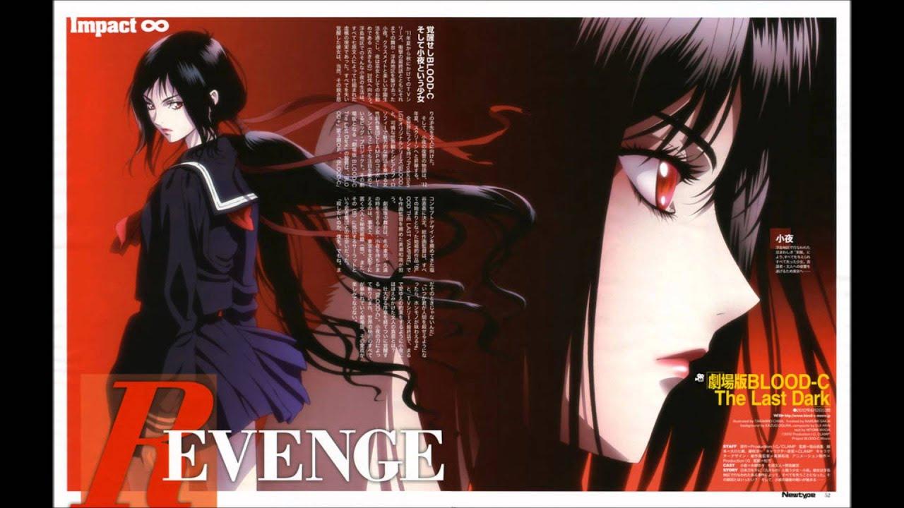 Blood c the last dark poster