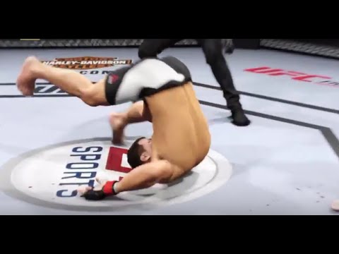 EA Sports UFC 2: Best KO Mode Knockouts Compilation