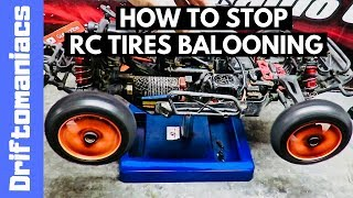 How To Stop RC Car Tires Ballooning - Step By Step Guide