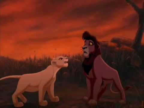 the lion king kiara amp kovu set fire to the rain adele