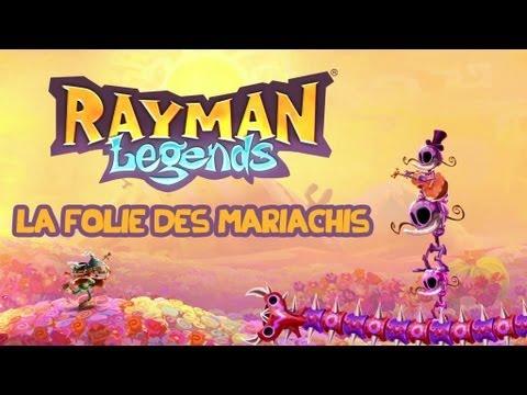 Rayman Legends - La Folie des Mariachis