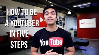 How to be a Youtuber in Five Steps! + YouTube FanFest (2016) news