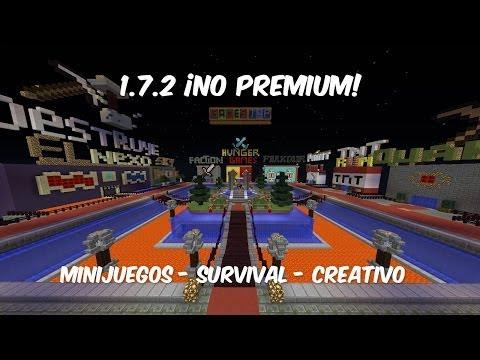 ¡Nuevo Servidor GamesJap No Premium! - 1.7.2 - Minijuegos - Survival - Creativo