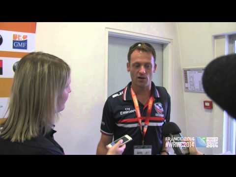 WRWC 2014 - USA Women's Eagles vs New Zealand: Post-Match Comments