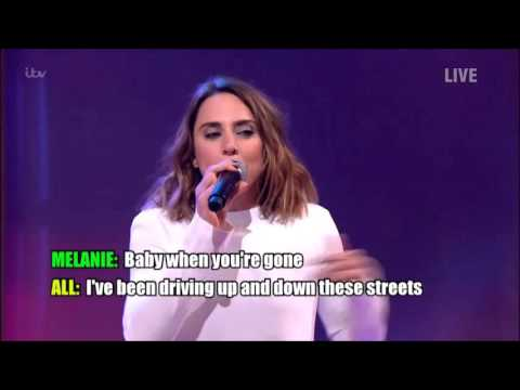 Melanie C on Ant and Dec's Saturday Night Takeaway