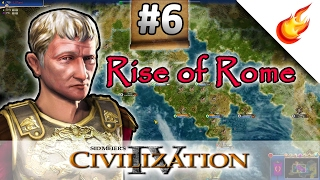 Greek Scare - RISE OF ROME Scenario - CIVILIZATION 4: Warlords - Part 6