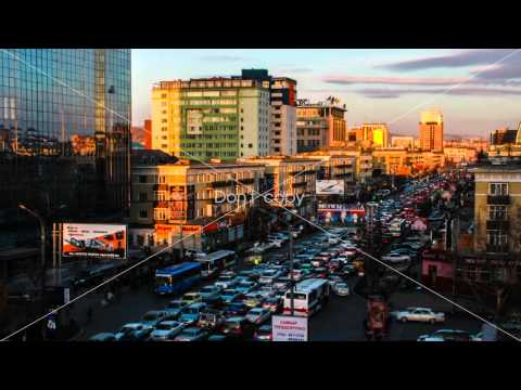 Ulaanbaatar Timelapse