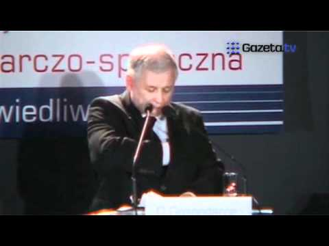 """TV jaja - Kaczyński zamilkł na konferencji. """" Przepraszam jestem chory"""""""