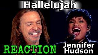 Vocal Coach Reaction to Jennifer Hudson - Hallelujah - Live - Ken Tamplin