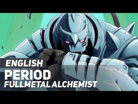 "Full Metal Alchemist (Opening) - ""Period"" | ENGLISH Ver | AmaLee"