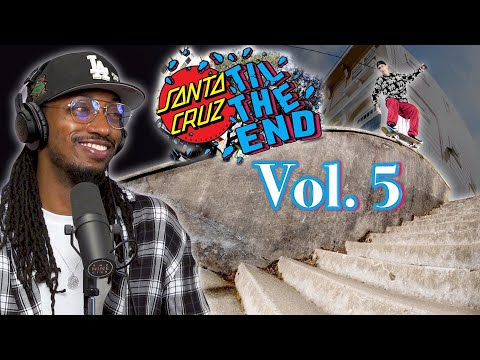 "We Review The Santa Cruz ""Til The End Vol 5"" Video"