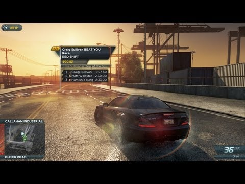 Need for Speed Most Wanted Gameplay Video 3 -- Find It, Drive It