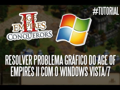 Tutorial: resolver o problema gráfico do Age of Empires II com o Windows Vista/7