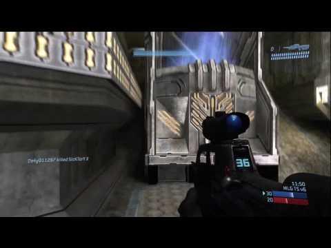 vG vs. Final Boss - Narrows TS (BestMaN POV) *Halo 3 Gameplay* HD