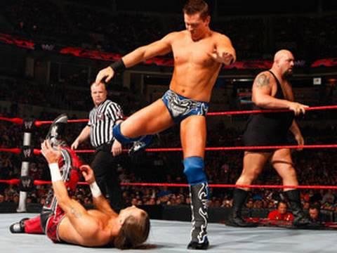 Raw: The Miz & Big Show Vs. Dx - Unified Tag Team video
