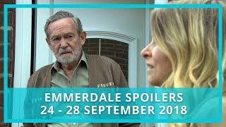 Emmerdale spoilers: 24 - 28 September 2018