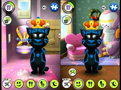 My Talking Tom King Gameplay Trailer Youtube