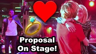 Logan Proposes To Chilly!