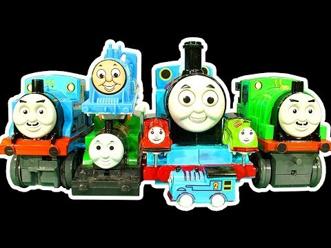 Thomas Tank Dark Side Knock Off Toys Ep 6 & 7 Green Thomas Glarabel MONSTER REVIEW Music Videos