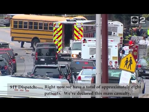 6 dead after MTA, school bus crash in southwest Baltimore