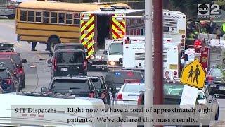 6 dead after MTA, school bus crash in southwest Baltimore